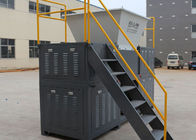 Multi - Functional Bulky Waste 4 Shaft Shredder, Roadblock Industrial Shredder Machine